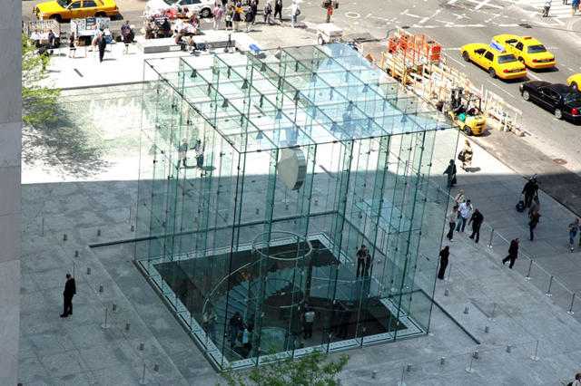 Boingboing Has An Aeriel Shot Of The Staircase At Appleu0027s New Fifth Avenue  Store.