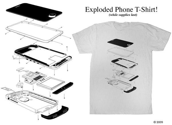 Parts Is Parts  Exploded Iphone T