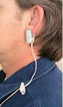 emWave's clip-on ear sensor.