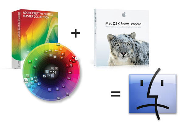 Adobe CS3 'Not Tested' on Snow Leopard