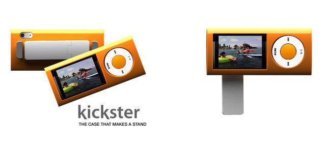 The Kickster for iPod Nanos from Quirky