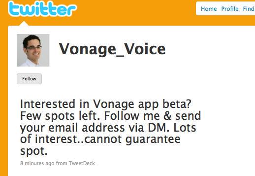 vonage app for mac