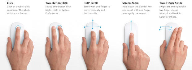 Video: Watch the Multi-Touch Magic Mouse in Action | Cult of Mac