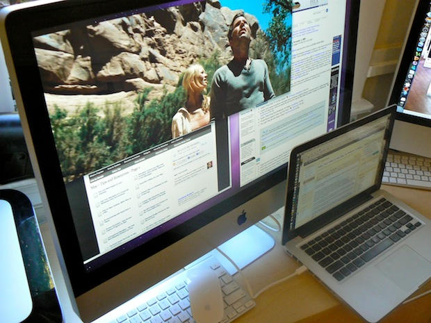 Video 27 Inch Imac In Action As External Monitor Cult