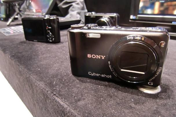 The Cyber-shot DSC-HX5, one of seven new point-n-shoots from Sony