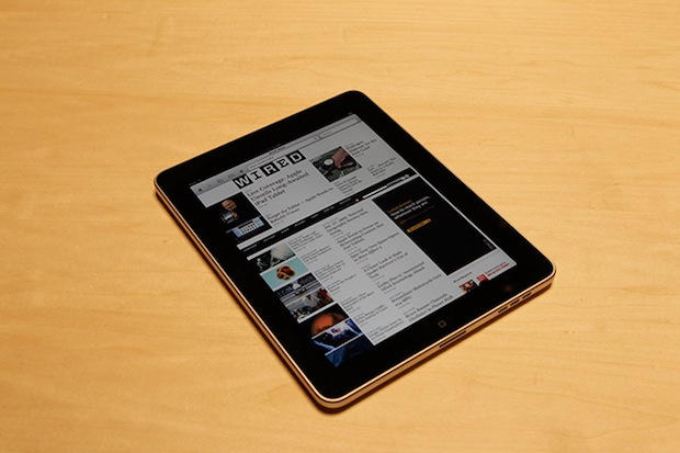 Wired's iPad application could appear in June. Photo: Jon Snyder/Wired.com
