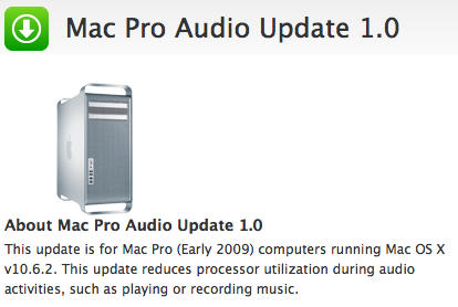 Apple fixes Mac Pro CPU overheating issues in early 2009 models