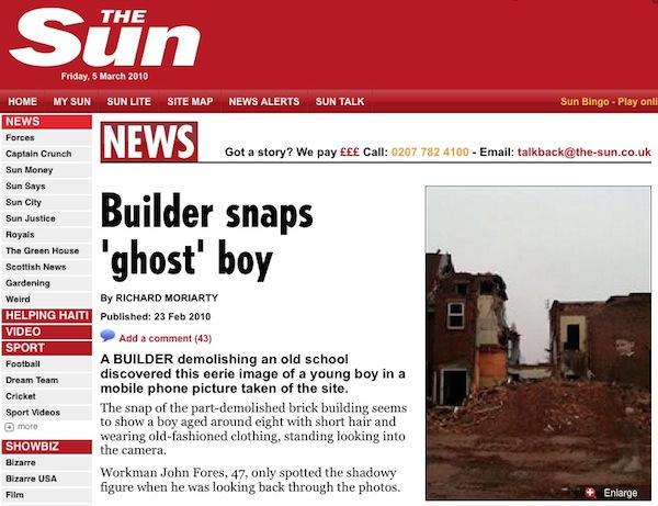Dim UK Tabloids Report Ghost App Prank   Cult of Mac