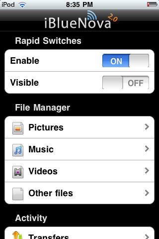 iphone bluetooth send file app