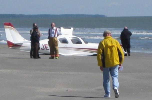 Plane Kills Beachgoer