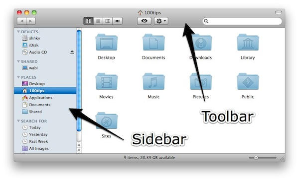 how to change finder on imac