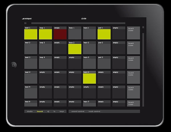 MidiPad, A Software Ableton Sequencer Controller For iPad