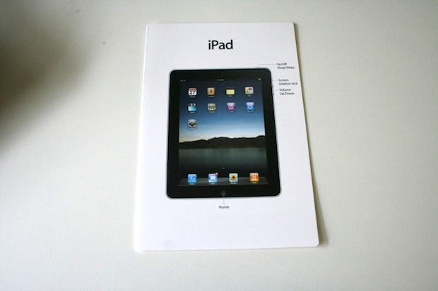 Pic Of The Day The Ipad Instruction Manual Cult Of Mac