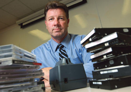 David Hendrickson heads the Rapid Enforcement Allied Computer Team, the police task force that ordered a raid on Gizmodo editor Jason Chen. Picture: San Jose Business Journal: