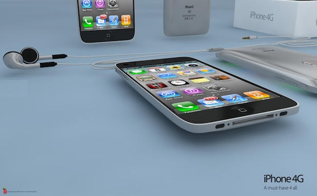The iPhone 4G Rendered In 3D (With Video) [Mockups] | Cult