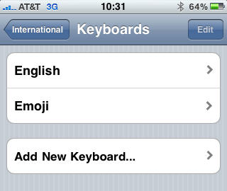 Enable the Emoji Keyboard in iPhone OS 4 0 [How To] | Cult