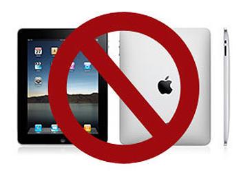 No-iPad