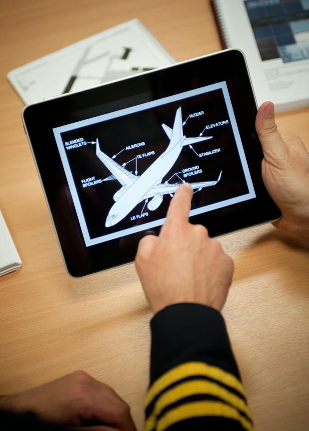 A stress test on the iPad. Photo courtesy James Stevenson, Virtual Aviation.