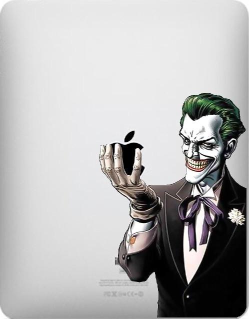 Amazing Joker Ipad Vinyl Sticker On Etsy Cult Of Mac