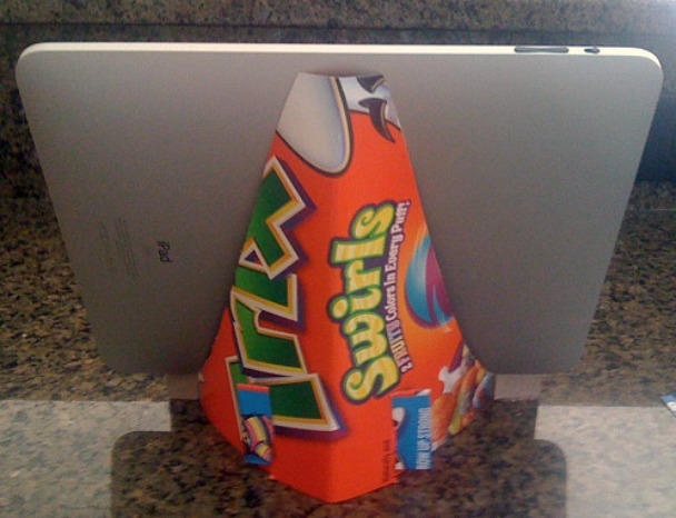 Silly rabbit, Trix are for iPad stands.