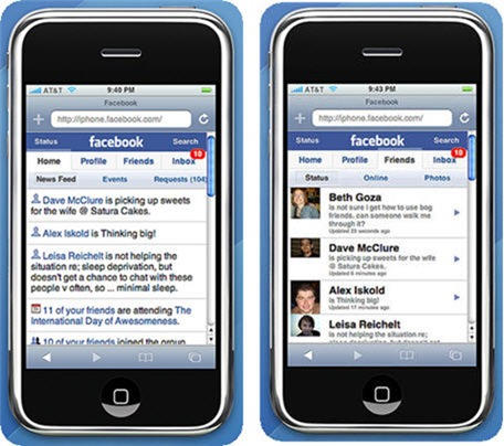 Upload images facebook iphone