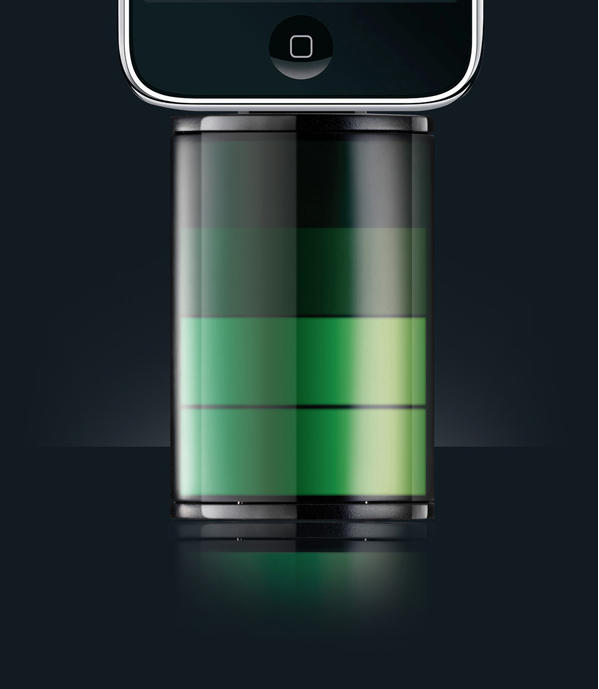 Lithium Ion Battery >> Battery Pack for iPhone Looks Like Charging Battery Icon | Cult of Mac