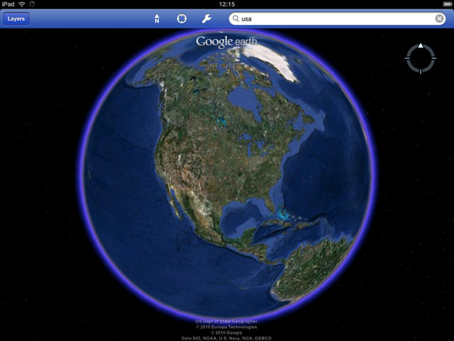 Google Earth For Ipad Is Best Ipad App Yet Review Cult Of Mac