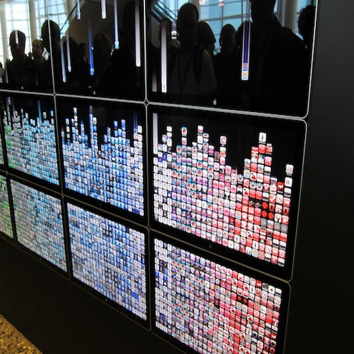 Apple App Wall 2010