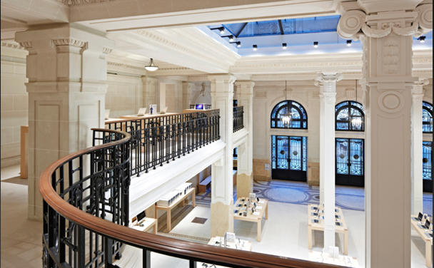 Restoration Hardware Outlet >> Add Paris Apple Store to Your Bucket List | Cult of Mac