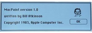 MacPaint Version 1.0
