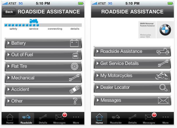 BMW iPhone App Keeps Motorcycle Riders Moving