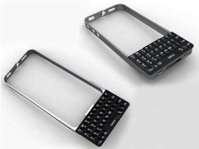new concept 0bee0 5b90a Designing a Snap-On QWERTY Keyboard for the iPhone | Cult of Mac