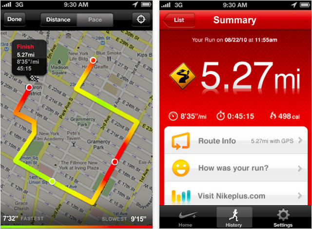 Nike Gps Now In App Store Track Your Runs Without 19