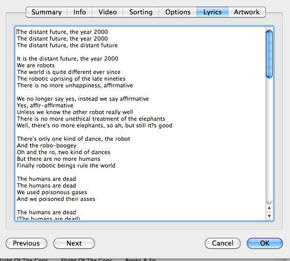 how to add lyrics to mp3 mac