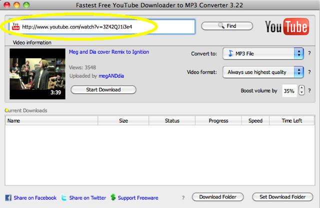 youtube convert mp 3