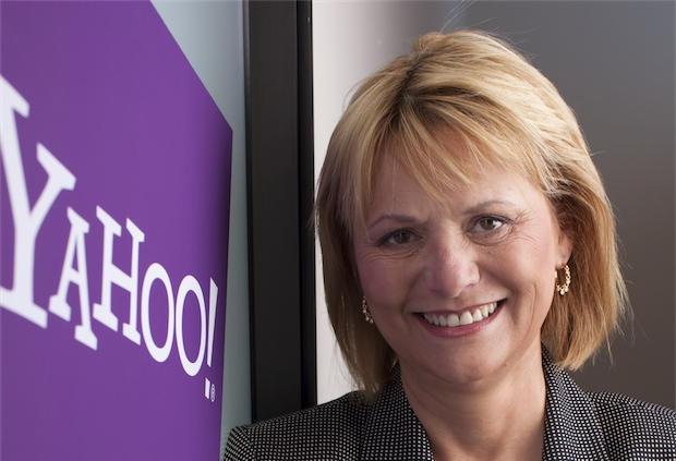 Yahoo CEO Carol Bartz (Credit: Yahoo! - Service de presse - http://flic.kr/p/5Zaisy)