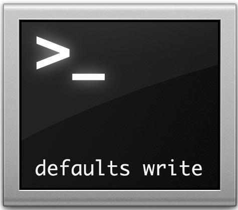 defaults-write