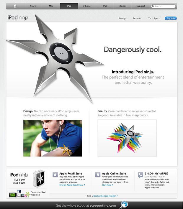 iPod-ninja