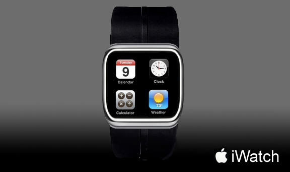 Concept for an Apple-made wristwatch