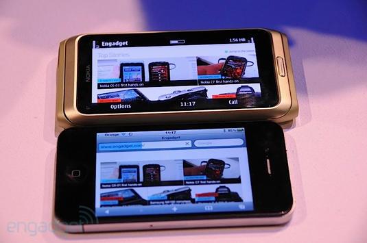 nokia-e7-vs-iphone-4-display