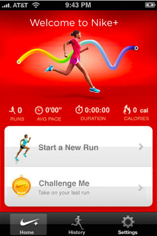 Punto muerto Uva Alentar  Nike+ GPS Now In App Store: Track Your Runs Without $19 Shoe Sensor | Cult  of Mac