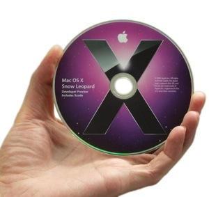 DVD von Mac-OS X 10.6 Snow Leopard