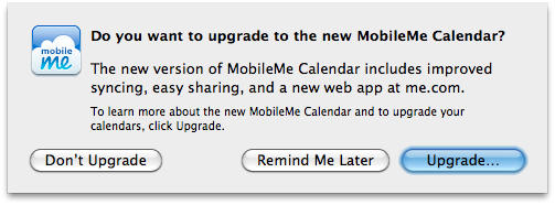 Do you want to upgrade your calendars?