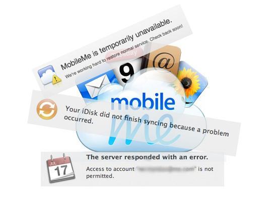 MobileMe-Errors