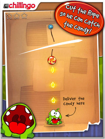 how to beat level 21 on cut the rope 2