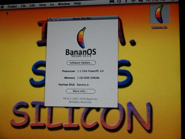 BananOS screenshot