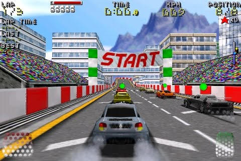 If you can't be bothered to read the article, the short version is that Killer Edge Racing is back on the App Store! Hurrah!