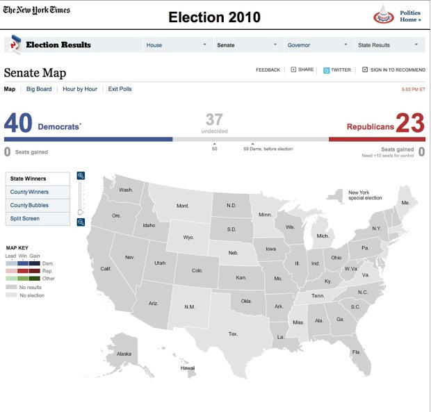 NYTimes2010ElectionMap