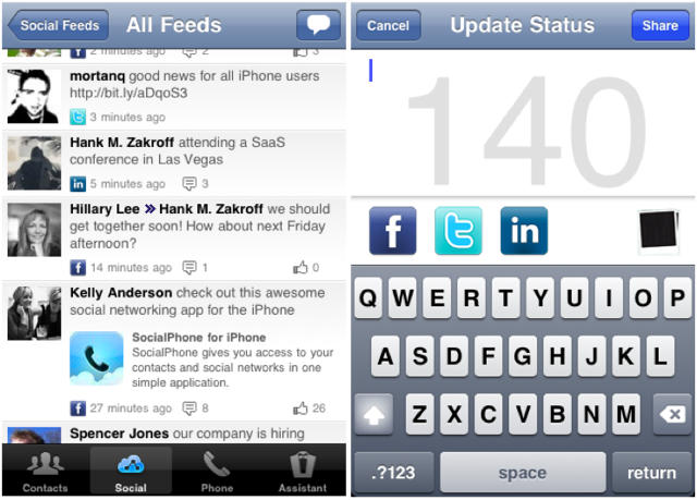 All in one social media app iphone