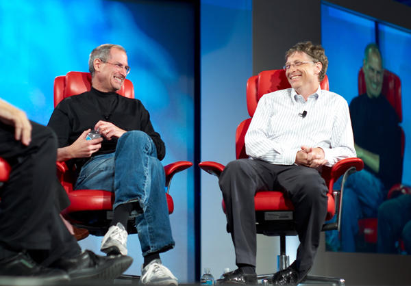 Jobs and Gates